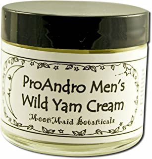 MoonMaid Botanical ProAndro Men's Wild Yam Cream 2 Ounce