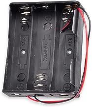 18650 Battery Holder with Leads, Besmelody 3 x 3.7v 18650 Battery Storage Box Case 3-Slot - 6