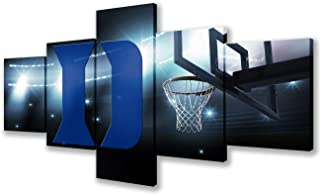 Wall Pictures for Living Room Basketball Stadium of Athletic Teams Paintings for NCAA 5..