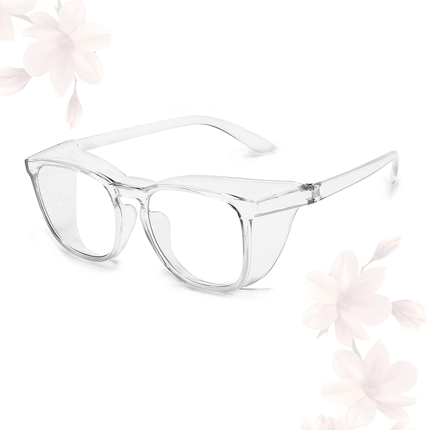 Anti Fog Safety Goggles Blue Light Blocking Protective Glasses for Women Men Fog-Proof Anti Scratch Eye Protection,Clear
