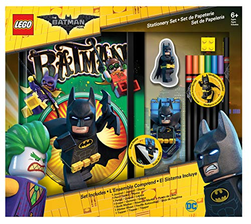 IQ Lego Batman Movie Stationery Boxed Set with Journal