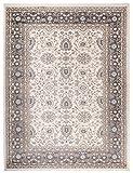 Carpeto Rugs Tapis Salon Beige 140 x 200 cm Oriental/Ayla Collection
