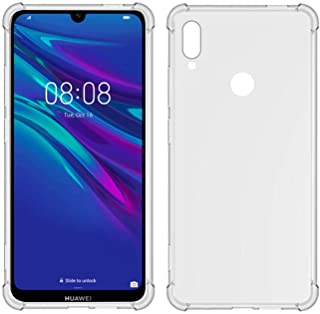 TIYA Case Clear for Huawei Y6s / Y6 2019 TPU Four Corners Cover Transparent Soft