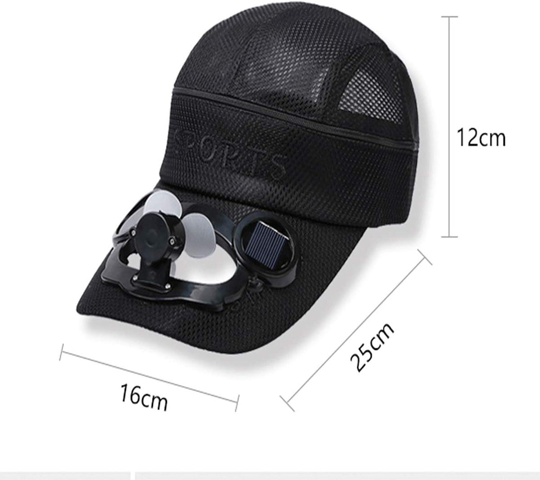 Muziwenju Hat, USB Rechargeable Solar Fan Hat, Summer Dualuse Cap, Hiking Cap, Fishing Visor, Men and Women Outdoor Sun Predection Sun Hat, Adjustable, Outdoor Essential ma