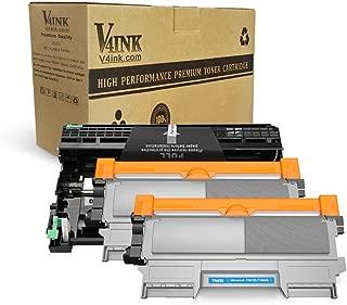v4ink Compatible Toner Cartridge and Drum Unit Replacement for Brother TN450 TN420 DR420 use with HL-2270dw HL-2280dw HL-2230 HL-2240d MFC-7240 MFC-7360n MFC-7860dw Printer 3 Pack (1 Drum+2 Toner)