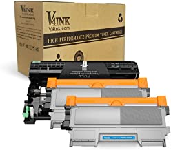 v4ink Compatible Toner Cartridge and Drum Unit Replacement for Brother TN450 TN420 DR420 use with HL-2270dw HL-2280dw HL-2230 HL-2240d MFC-7240 MFC-7360n MFC-7860dw Printer 3 Pack (1 Drum+2 Toner)