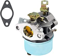 QAZAKY Carburetor Replacement for Tecumseh 640298 OH195SA 5.5HP OHSK70 7HP 4-Cycle 2-Stage Engine Snowblower Craftsman Toro 38571 38575 38576 38577 CCR 6053 Snowthrower Ariens 932036 932504 ST524 Carb