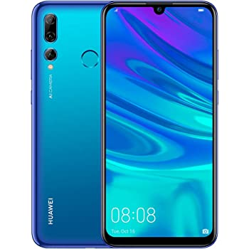 HUAWEI P Smart+ 2019 64 GB 6.21 inch FHD+ Dewdrop FullView Smartphone with Ultra-Wide Triple Camera, Android Sim-Free Mobile Phone, 3400 mAh Large Battery, UK Version, Starlight Blue