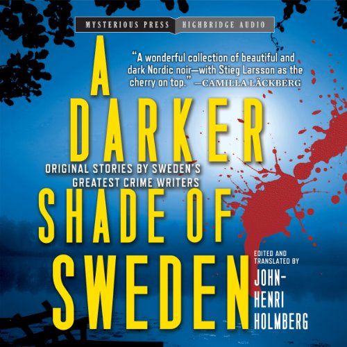 A Darker Shade of Sweden audiobook cover art