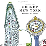 Image: Secret New York: Color Your Way to Calm, by Zoe de Las Cases (Artist). Publisher: Little, Brown, and Company; Csm edition (Oct. 6 2015)