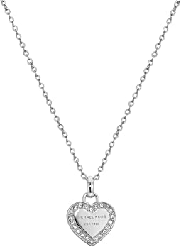 Michael Kors - Crystal Heart Pendant Necklace