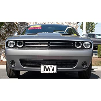 2015-2018 Dodge Challenger with Adaptive Cruise STO N SHO Quick-Release Front License Plate Bracket Big Mike/'s Performance Parts SNS1a