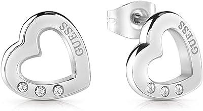 GUESS Pendientes UBE29059 y UBE29058 Silver / gold