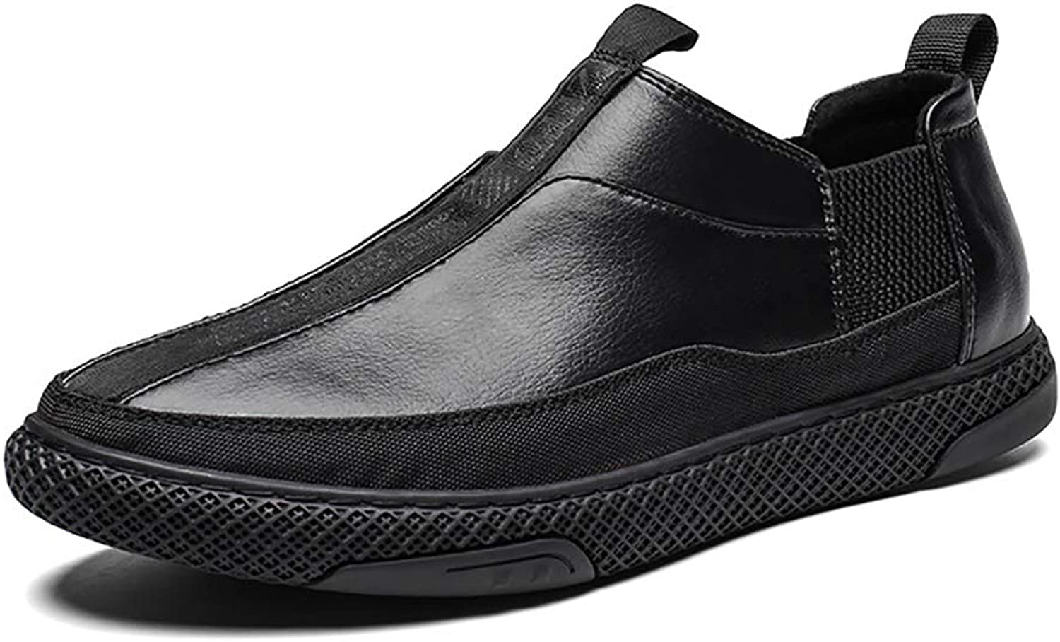 Men's Low-Cut Leather Casual shoes, Non-Slip, Lightweight, Comfortable, Fashion, Sports shoes