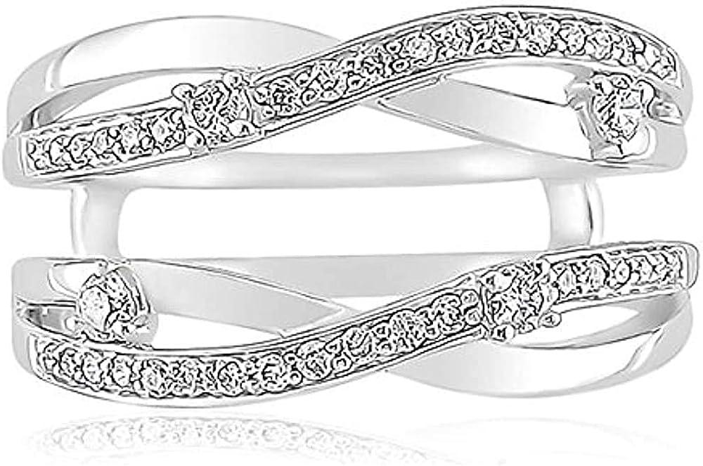 Palaksh Jewelry Brand Cheap Sale Venue Round Cut White Sterling Super sale Silver 14K 925 Diamond
