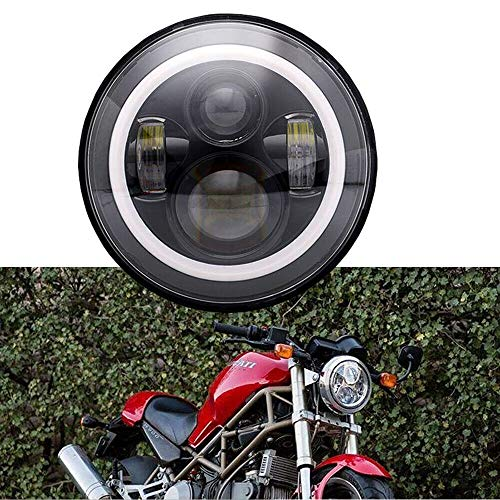 Halo LED Scheinwerfer Fit 93-08 Ducati Monster 1000 600 620 695 750 800 900 S4 Sport
