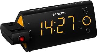 Sencor SRC 330 OR Clock Digital Black,Orange - radios (Clock, LED, Digital, FM, Orange)