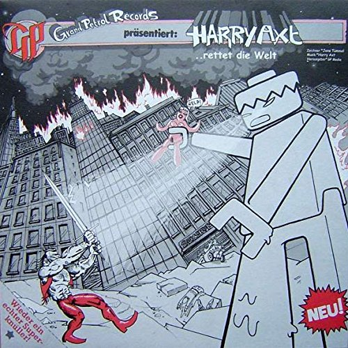 Harry Axt - ... Rettet Die Welt - Grand Petrol Recordings - GP 011