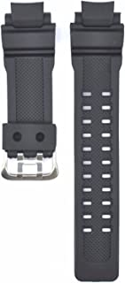 Compatible Replacement CAS109 Watch Band Strap Fits G-Shock 26mm Black Silicone rubber watch band Strap for G-Shock GW-3500B G-1000 Gshock G-1010 G-1100 G Shock GW-A1100 G-1200B G-1250B GW-3000B G
