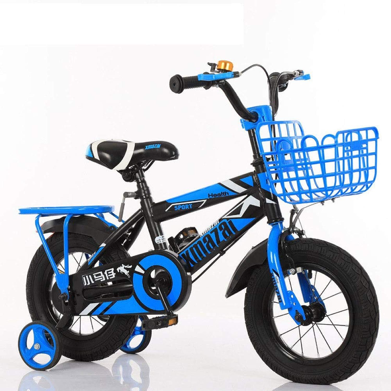 WY-Tong Bici Bambino Bicicletta Bambini Uomo e Ragazza Universale Bici Bicicletta Pieghevole con Moto di stabilizzatore