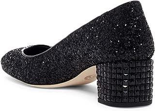 Womens Arabella Round Toe Classic Pumps Sandals Black Size 6.5 M US