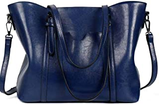Women Lightweight Leather Backpack Black Purse Versatile Classic Fashion PU Leather