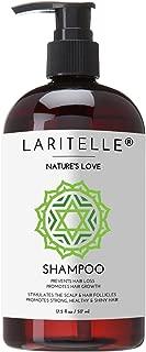 Laritelle Organic Shampoo 17 oz. Keratin, Rosemary, Grapefruit. Promotes Hair Growth, Prevents Hair Loss. GF