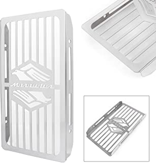 GZYF Stainless Steel Motorcycle Radiator Cover Protective Grill Guard for 1997-2004 Suzuki Marauder 800 VZ800