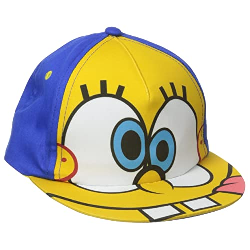 aac0a4718cd4b Nickelodeon Toddler Boys Nick Jr. Spongebob Squarepants Adjustable Cotton  Baseball Cap