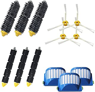 VacuumPal Replacement Parts Kit Including Bristle & Flexible Beater Brush & Armed-3 Side Brush