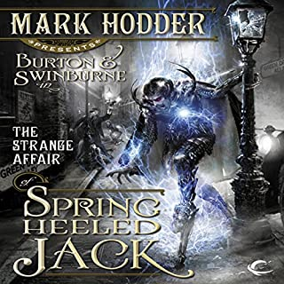 The Strange Affair of Spring Heeled Jack cover art
