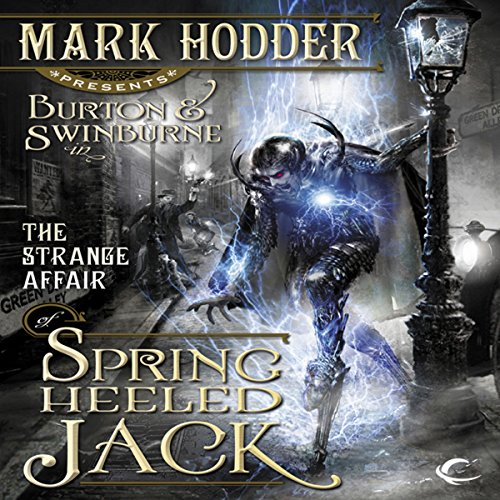 The Strange Affair of Spring Heeled Jack audiobook cover art
