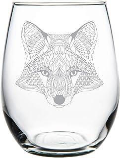 C M Fox 15 oz. stemless wine glass