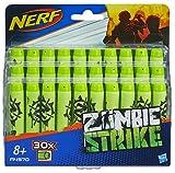 Nerf - Pack de 30 Flechettes Nerf Zombie Officielles