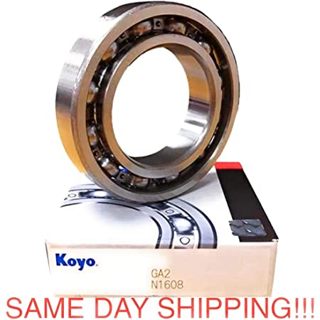 Ntn Bearing 6306 Single Row Deep Groove Radial Ball Bearing Normal Clearance Steel Cage 30 Mm Bore Id 72 Mm Od 19 Mm Width Open Amazon Com Industrial Scientific