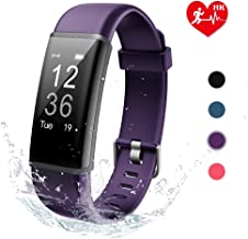 Lintelek Fitness Tracker HR Activity Tracker with Heart Rate Monitor, Sleep Monitor, Fitness Band with Steps Counter, Calories Counter, Pedometer Watch for Kids Women and Men
