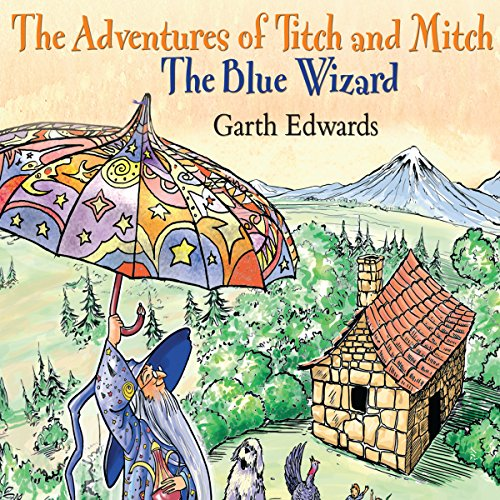 The Blue Wizard audiobook cover art