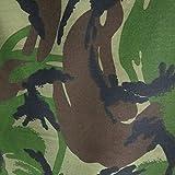 3 m de longitud de tela de camuflaje Woodland