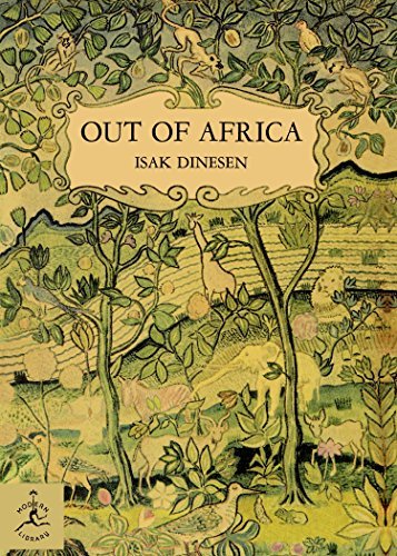 Out of Africa (Modern Library) [Idioma Inglés]