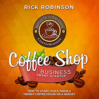 Coffee Shop Business Smart Startup audiobook cover art