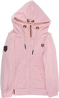 Welcometoo 2019 Women Fashion New Hoodie Jacket Zip Collar Zipper Long Sleeve Pullover Tracksuits XXXXL Hoodies