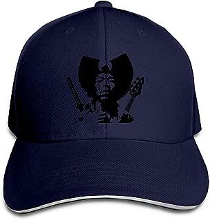 Jimi Hendrix Outdoor Sports Cotton Sanpback Cap Hat Adjustable White