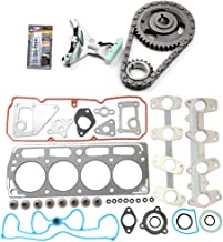 SCITOO Timing Chain Kit Head Gasket Set Replacement for Chevrolet S10 2-Door Extended Cab Pickup 2.2L Xtreme