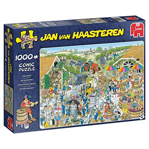 Jumbo 19095 Jan Van Haasteren – Das Winery-Puzzle mit 1000 Teilen, Multi