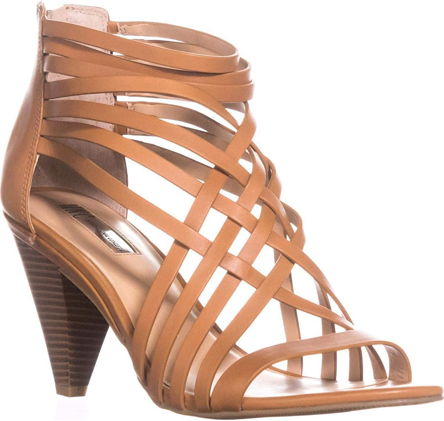 INC International Concepts Womens Garoldd Leather Open Toe Casual Strappy San.
