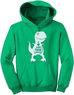 Tstars - キュートアイラブユーザウルスシャツ かわいいザウルスラブユーシャツ 小さなザウルスラブユーシャツ スイートザウルスシャツ キッズパーカー