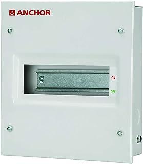 Anchor by Panasonic 53030 Gold Series 8 Way SPN Single Door Distribution Board