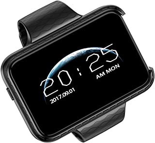 TOOGOO Smart Watch I5S Support Sim Tf Card Driving Recorder Mtk2502 Perfect Mp3 Mp4 Smartwatch Phone for iOS Andriod Phone(Black)