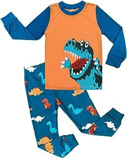 9df23e387b77a Tkria Enfants Garçons Ensembles de Pyjamas Bebe Garcon Mignonne  Dinosaur