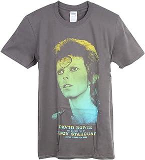 DAVID BOWIE デヴィッド・ボウイ (Space Oddity発売50周年記念) - Ziggy Stardust Large Photo/Tシャツ/メンズ 【公式/オフィシャル】